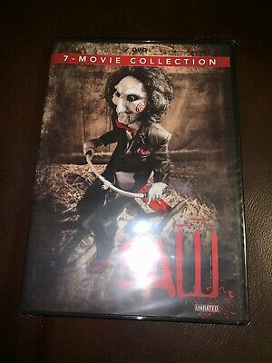 BRAND NEW Saw The Complete 7-Movie Collection DVD