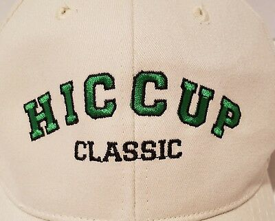 NOVELTY BASEBALL CAP WITH BOTTLE OPENER MENU CHOICES TAKE IT OR LEAVES IT