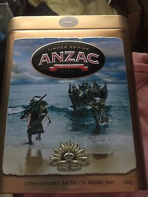 Anzac 2019 Biscuit Tin