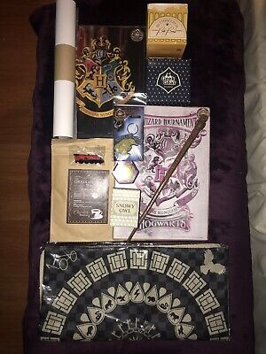 Geek Gear UK Harry Potter Wizardry Subscription Box Lot Of 18 (Authentic)