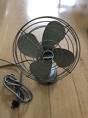 Vintage Elcon Fan, Working Condition, P/up Sth Melbourne.