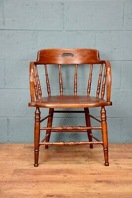 Arts and Crafts Oak Chair (100736)