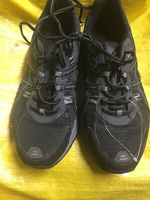 4f27e5ee96c Asics Gel Frantic 5 Mens Running Shoes Size 11 Black Very Good Condition