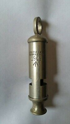 Vintage Trench Whistle 1941 Birmingham