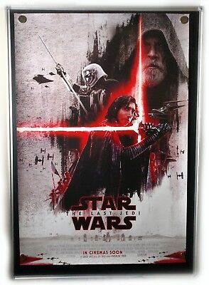 Star Wars Episode VIII The Last Jedi International Original 27x40 Movie Poster B