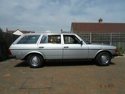 1985 mercedes w123 200t one owner until 2014 low mileage