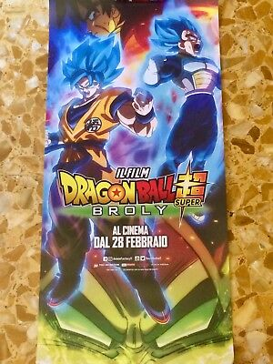 Dragon Ball Super Broly Film Poster Locandina Cinema