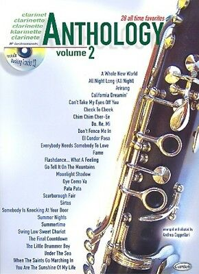 Carisch Verlag Anthology Clarinet Vol. 2 - 28 all time favorites + CD