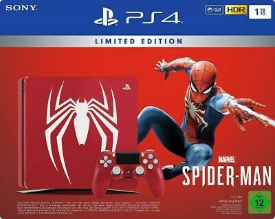PS4 1TB Limited Edition + Marvel's Spider-Man + Season Pass (Playstation 4)