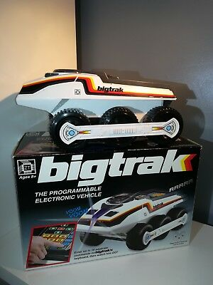Bigtrak Retro Programmable Retro Electronic Vehicle Classic Electric Sc-Fi Gift.