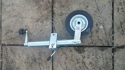 48mm Jockey Wheel With Wheel with clamp For Caravan Trailer, Etc