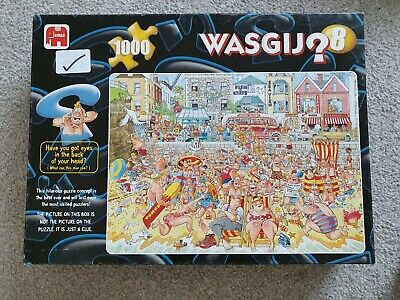 Wasgij Jigsaw Puzzles - x 1000-piece . Good used condition.  All puzzle pieces