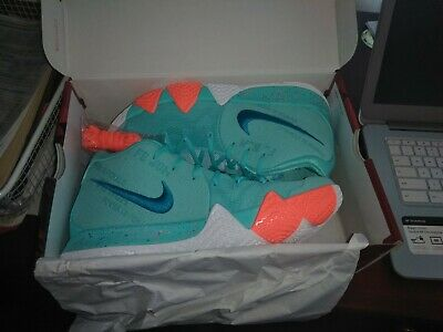 various colors 76320 e1444 NEW NIKE KYRIE 4 Power is Female Light Aqua Neo Turquoise size 10.5 943806  402