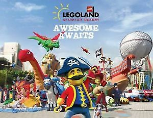 2x Legoland Windsor tickets Sunsaver codes for you to select