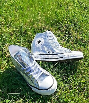 CONVERSE C.T. ALL Star Lux Mid sneakers TEXTIL PURESILVER ...