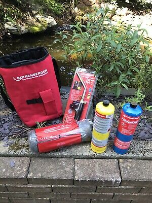 Rothenberger Hot Bag With Superfire 2 Torch, 2 X Mapp Gas And Wire Wool.