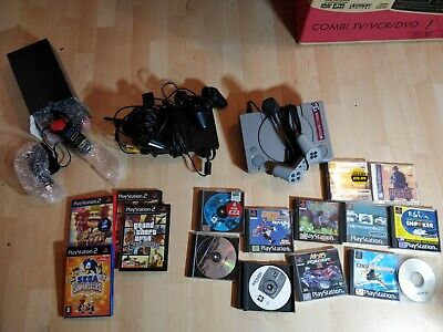 Sony playstation 1 And PlayStation 2 Slim Tested