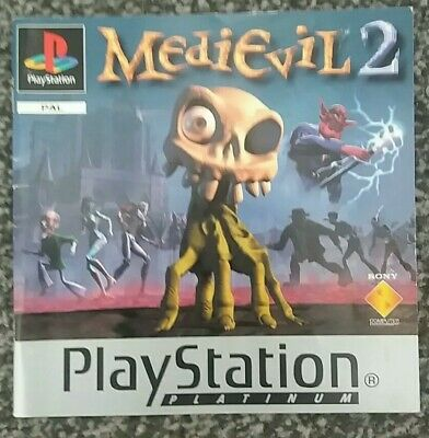 MEDIEVIL 2 Playstation PS1 - Manual Only