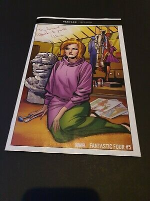 Fantastic Four #5 Stan Lee 1:500 KIRBY Remastered Alicia Masters Variant