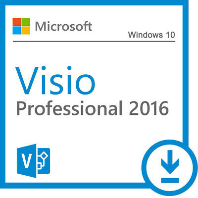Microsoft Visio Professional 2016 License Key 1 PC With Official Download Link