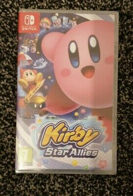 NINTENDO SWITCH : Kirby Star Allies - New and Sealed