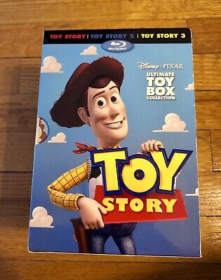 Toy Story Trilogy: Ultimate Toy Box Collection (Blu-ray, DVD, 2010) Disney Puzae