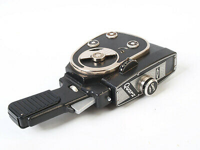 Vintage Russian Quarz - Standard 8mm Cine Film Camera & Pistol Grip - Home Movie