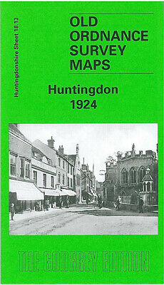 Godfrey Edition Old Ordnance Survey Maps Huntingdonshire