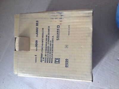squared d class 8009 type an82 sy/max 8 function input module 240v ac