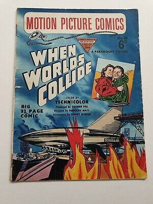 When Worlds Collide (Fawcett Motion Picture Comic No.60) UK 1952