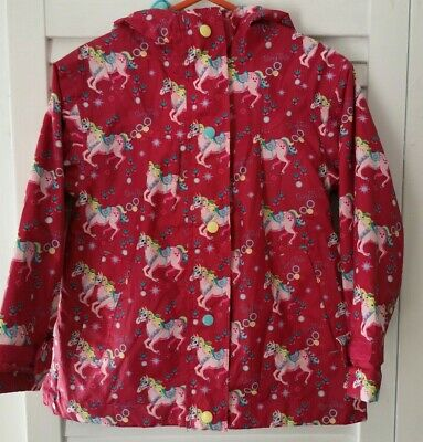 Target Dry Little Girls Hooded Jacket With Pony Print Size 2-3 Years