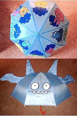 Adorable NwoT Child SCHYLLING 'UGLY DOLLS' UMBRELLA Monsters Bumbershoot Brolly