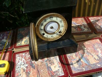 Vintage  Ansonia   Mantle  Clock missing  Parts selling for Spare Or Part