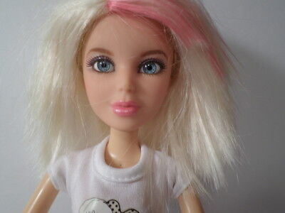 Spin Master Jointed Liv Doll Blonde Wig, Clothe & Shoes Blue Eyes!