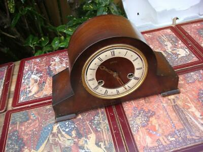 Vintage Smith Floating Balance   mantle Clock For  Restoration Spare Or Repair