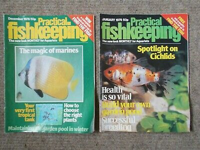 Two Practical Fishkeeping Magazines Issues from 1978 and 1979