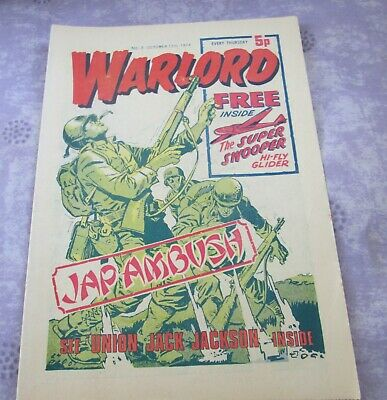 WARLORD COMIC no 3    OCTOBER 1974   EXCELLENT CONDITION   45 YEARS OLD