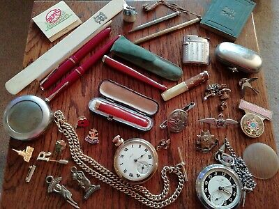 Collectables, Curios, Antiques/Vintage, Military, Pocket Watches...