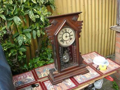 Vintage  Ansonia  Strike Mantle Clock