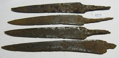 Ancient iron knives of Kievan Rus Viking 8-11 century. #601
