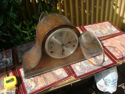 Vintage  Mantle  Clock missing  Parts selling for Spare Or Part