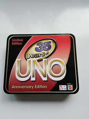 Uno Card Game -Limited Edition 35year Anniversary