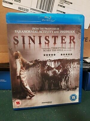 Sinister (Blu-ray, 2013 w/ Slipcover)