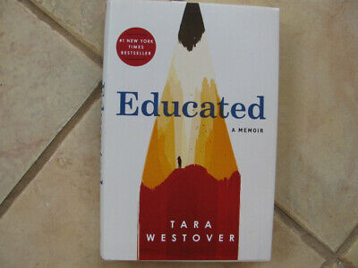 EDUCATED : A Memoir by Tara Westover  HCDJ Like New Cond Actual Book