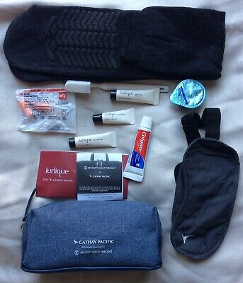 New Unopened Bmi Airline Business Class Travel Flight Amenity Bag Kit