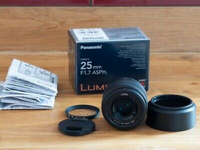 Panasonic Lumix G 25mm F1.7 ASPH Fantastic Condition MFT M4/3 Micro Four Thirds