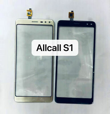 New Touch Screen Digitizer Glass lens Panel Replacement For Allcall S1 5.5inch