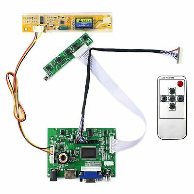 "For 12.1"" B121EW07 V0 B121EW02 V1 HDMI VGA 2AV  Audio LCD Controller Board"