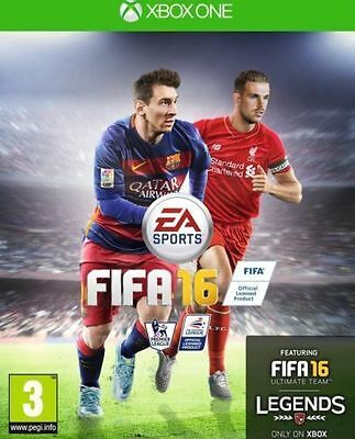 FIFA 16 (Microsoft Xbox One, 2015) New Sealed UK PAL EA Sports Featuring Legends