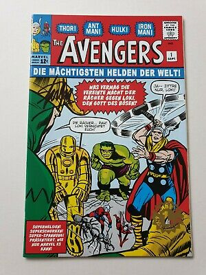 The Avengers 1 signed Stan Lee